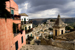 Ragusa Ibla Stock Photo