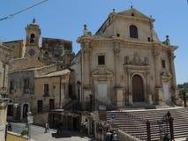 Ragusa Ibla Foto de archivo libre de regalías