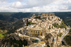 Ragusa Ibla cityscape Royalty Free Stock Images