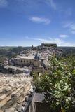 Ragusa Ibla em Sicília Fotos de Stock