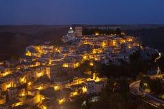 Ragusa Ibla, Ragusa Sicilien, Italien Fotografering för Bildbyråer