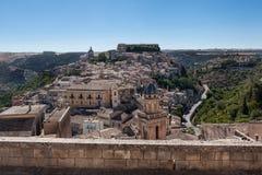 Ragusa Ibla, Ragusa Sicilien, Italien Arkivfoton