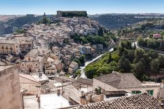 Ragusa Ibla, Ragusa Sicilien, Italien Royaltyfri Foto