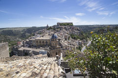 Ragusa Ibla in Sicily Stock Image