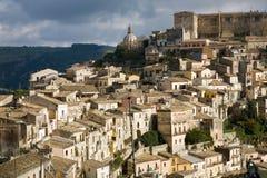 Ragusa Ibla, Sizilien lizenzfreie stockbilder