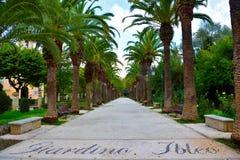 Ragusa Sicilië Italië stock fotografie