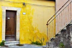 Ragusa Sicilië Italië stock foto's