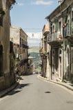 Ragusa. Street of Ragusa, Sicily, Italy Royalty Free Stock Photos