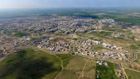 Rahat City - Aerial photography - تصوير من الجو مدينة رهط Stock Photography