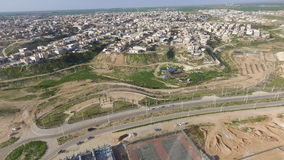 Rahat City - Aerial photography - تصوير من الجو مدينة رهط Stock Images