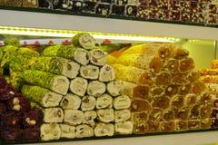 Rahat lokum at the market Royalty Free Stock Photo