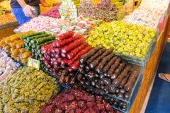 Rahat lokum at the market Stock Photo