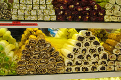 Rahat-lokum am Markt Stockfoto