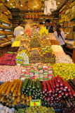 Rahat-lokum am Markt Lizenzfreie Stockfotos