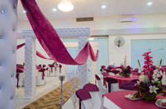 Rahat, Negev, Israel - August 26, The new hall -Ulam_Lotus,Hina  - Rahat, 2015 Royalty Free Stock Images