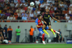 Raheem Sterling and Alin Tosca Stock Images