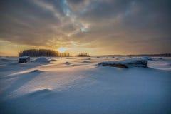 Rahja archipelag w wintertime Fotografia Stock