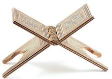 Rahl - supporto tradizionale sotto il Koran. Fotografia Stock