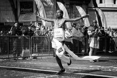 Rahma Tusa Chota wint de 24ste uitgave van de Marathon van Rome Royalty-vrije Stock Afbeeldingen