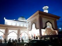 Rahman meczet przy półmrokiem zdjęcie royalty free