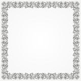 Rahmen-Batik-Silber Stockfoto