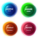 Rahmen des Effektes 3D Farb Lizenzfreie Stockfotos