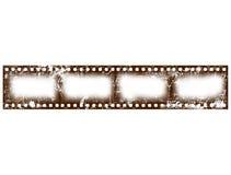 Rahmen des Film-4x alt stock abbildung