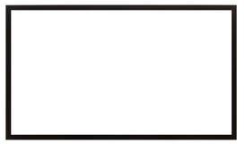 Rahmen des schwarzen Quadrats Stockfotografie