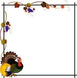 Rahmen für Danksagungs-Tag Lizenzfreie Stockfotos