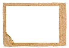 Rahmen für ein Foto lizenzfreies stockbild