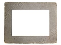 Rahmen für ein Foto lizenzfreie stockbilder