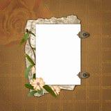 Rahmen für Einladungen Stock Abbildung