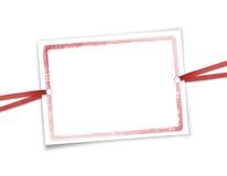 Rahmen für Einladungen. Lizenzfreie Stockfotos