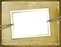 Rahmen für Einladungen. Abstrakter Hintergrund. Stockfotografie