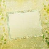 Rahmen für Foto oder Einladung Stockfoto
