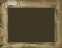 Rahmen für Foto oder Gruß Stockbilder