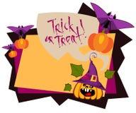 Rahmen-Halloween-Tag Lizenzfreies Stockfoto