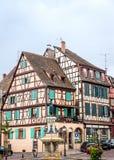 Rahmen-Haus in Colmar Lizenzfreies Stockbild