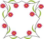 Rahmen mit Farben Stockfoto