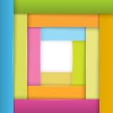 Rahmen-Streifen-von-Papier-stilvoll-Design-Element Lizenzfreies Stockbild