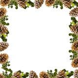 Rahmen von Weihnachten Stockbilder