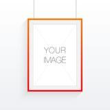 A4 / Rahmendesign des Formats A3 mit Ihrem Text oder Bild Stockfotos