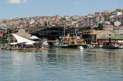 Rahmim Roc Museum de transport, Istanbul Image stock
