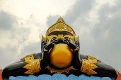 Rahu雕象 免版税库存图片