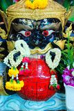 Rahu in Lunar eslipse form. Culture and religion Royalty Free Stock Image