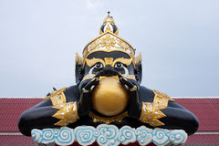 Rahu with Moon Royalty Free Stock Images