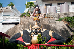 The Rahu statue on Wat Khao Tao temple in Thailand. Royalty Free Stock Photo