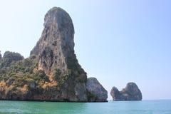 Rai coloca (Rai Leh) a praia, Tailândia Fotografia de Stock