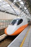 Rai di alta velocità di Taiwan Immagine Stock