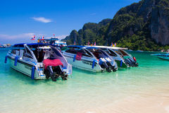 Rai Lay Beach Krabi Thailand, Mahya bay Royalty Free Stock Photos